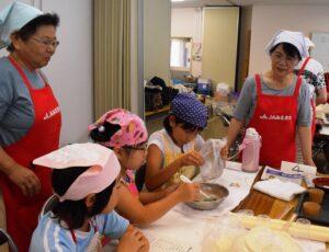 07.25‐26内部支部女性部子どもクッキー