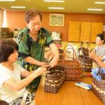 長島地域「クラフトかご作り」